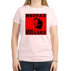 Defeat Comrade Hillary Women's Light T-Shirt