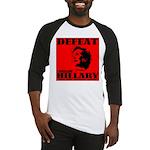 Defeat Comrade Hillary Baseball Jersey