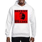 Defeat Comrade Hillary Hooded Sweatshirt