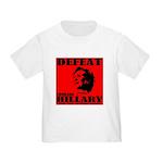 Defeat Comrade Hillary Toddler T-Shirt