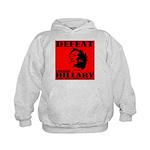 Defeat Comrade Hillary Kids Hoodie