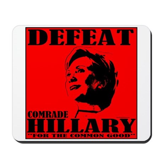 Defeat Comrade Hillary Mousepad