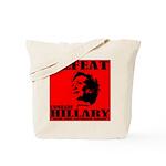Defeat Comrade Hillary Tote Bag