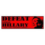 Defeat Comrade Hillary Bumper Sticker
