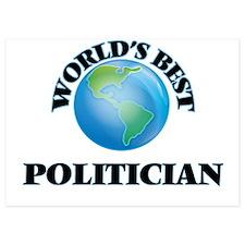 World's Best Politician Invitations