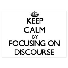 Keep Calm by focusing on Discourse Invitations