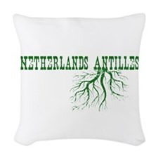 Netherlands Roots Woven Throw Pillow