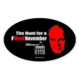 FRed Thompson November 08 Oval Decal