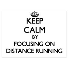 Keep Calm by focusing on Distance Runn Invitations