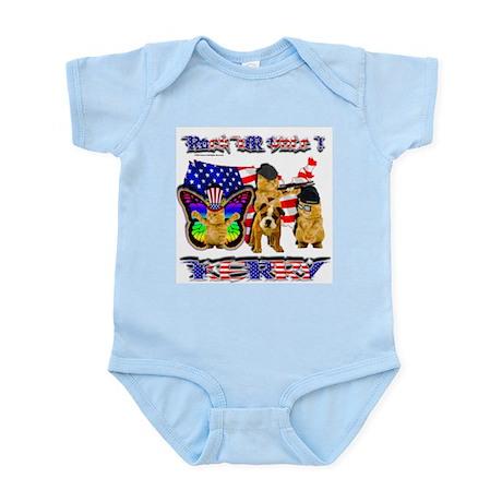 Infant Creeper Rock UR Vote Kerry Gang