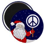Santa Claus Peace Sign Magnet (100 pack)