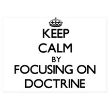 Keep Calm by focusing on Doctrine Invitations