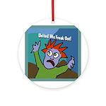 United We Freak Out Xmas Tree Ornament