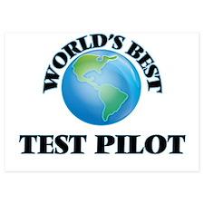 World's Best Test Pilot Invitations