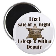 Safe at Night Deputy Magnet