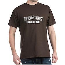 """The World's Greatest Maltese"" T-Shirt"
