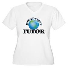 World's Best Tutor Plus Size T-Shirt