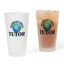 World's Best Tutor Drinking Glass