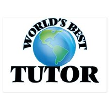 World's Best Tutor Invitations
