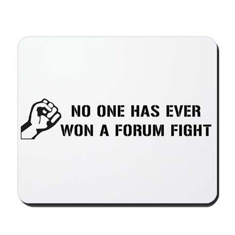 Forum Fight Mousepad