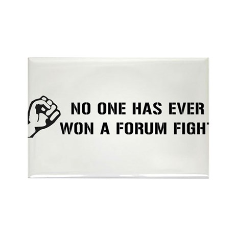Forum Fight Rectangle Magnet