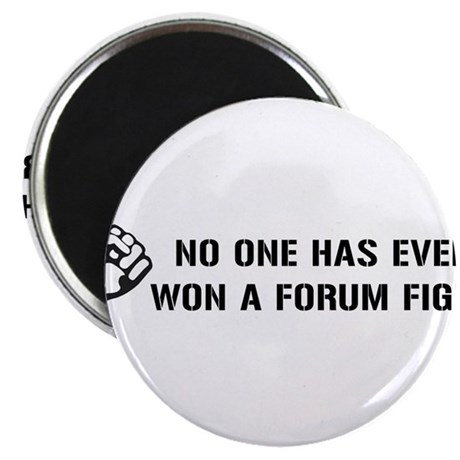 Forum Fight 2.25&quot; Magnet (100 pack)