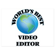 World's Best Video Editor Invitations