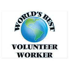 World's Best Volunteer Worker Invitations