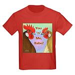 You N Me Babe! Kids Dark T-Shirt