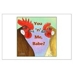 You N Me Babe! Large Poster