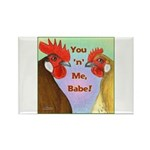 You N Me Babe! Rectangle Magnet (10 pack)