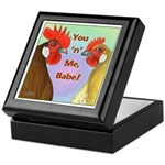 You N Me Babe! Keepsake Box