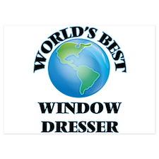 World's Best Window Dresser Invitations