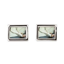 Jeanne  Rectangular Cufflinks