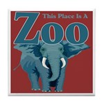 Zoo Tile Coaster