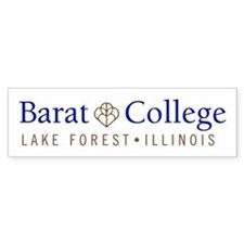 Barat College Bumper Bumper Sticker