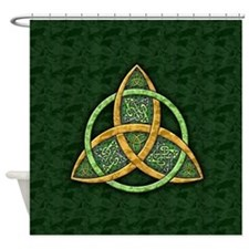 Celtic Trinity Knot Shower Curtain