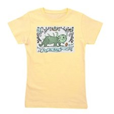Cute Toadstool Girl's Tee