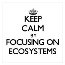 Keep Calm by focusing on ECOSYSTEMS Invitations