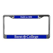 Barat License Plate Frame