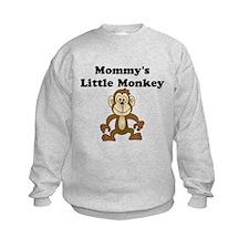 Mommy's Little Monkey Sweatshirt