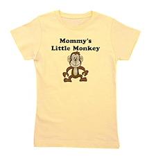 Mommy's Little Monkey Girl's Tee