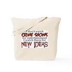 CRIMESHOWS.png Tote Bag