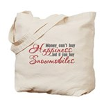 Snowmobiling Tote Bag