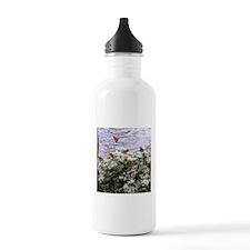 Monarchs on a Babys Breath Rest stop Water Bottle