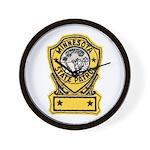 Minnesota State Patrol Wall Clock