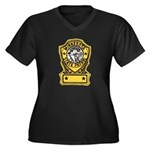 Minnesota State Patrol Women's Plus Size V-Neck Da