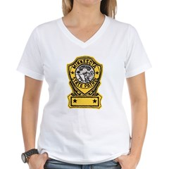 Minnesota State Patrol Women's V-Neck T-Shirt