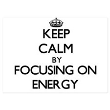 Keep Calm by focusing on ENERGY Invitations