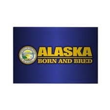 Alaska Born and Bred Magnets
